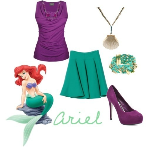 The Little Mermaid Inspired Outfits