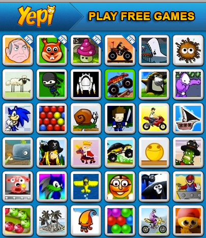 Yepi Free Online Games