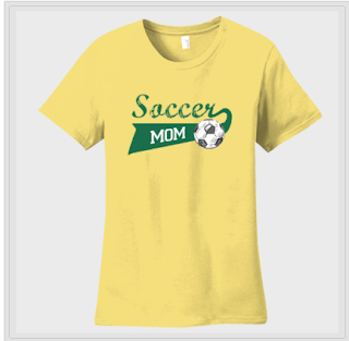 Soccer Mom T-shirt at Envy My Tee Custom T-shirts and Apparel