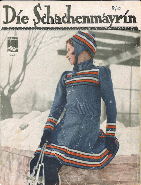 The Vintage Pattern Files - Free 1940's German Knitting Patterns - Die Schachenmayrin 09 1942
