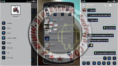 BBM Mod Keren Tema Light Silver v2.9.0.51 + BackUp Free Sticker