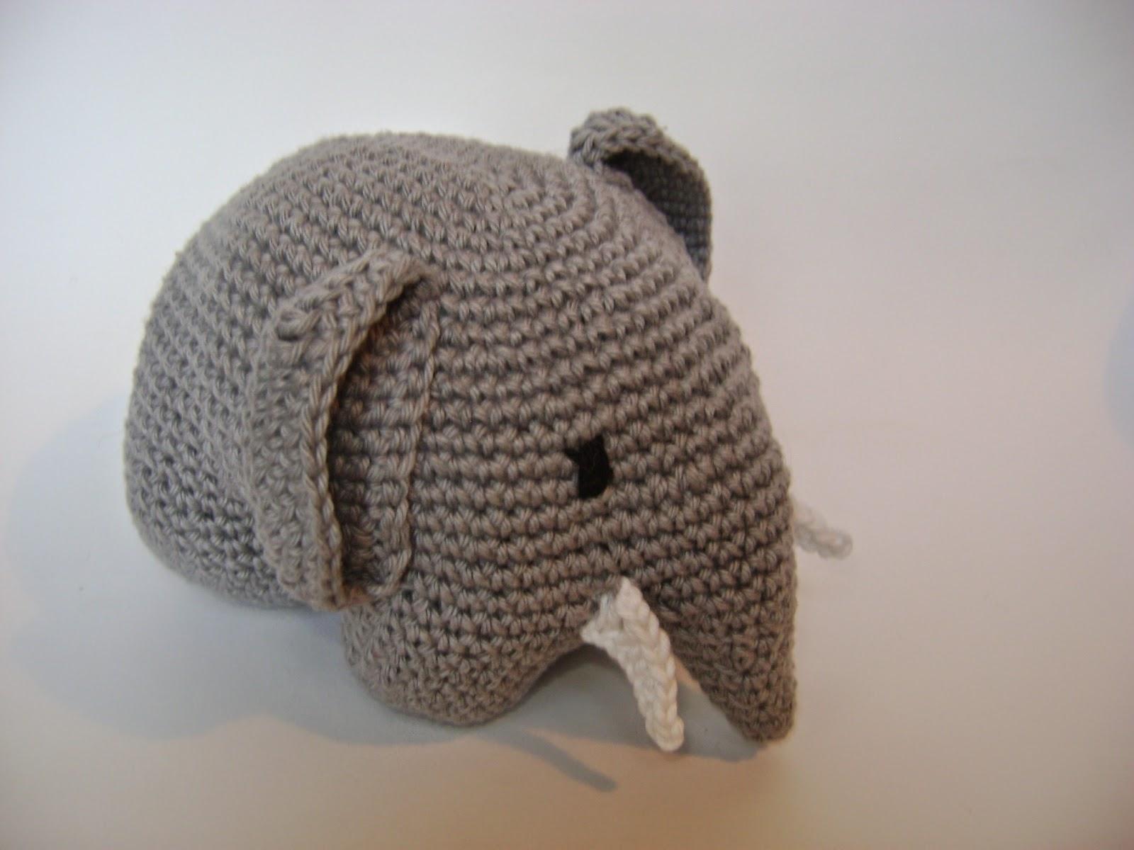 Ganchitos: ¡Otro elefante de amigurumi!
