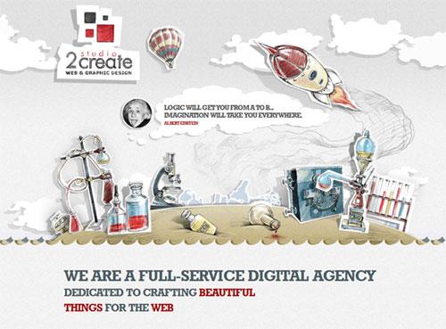 Illustrations in Web Design