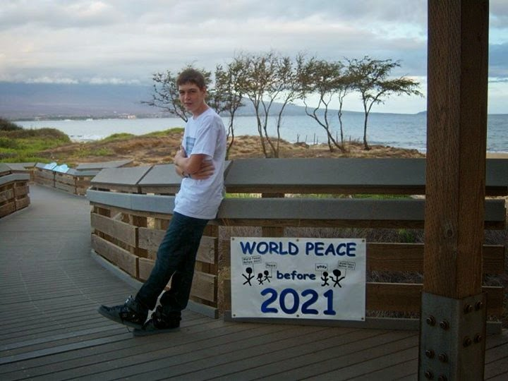Free Bumper Sticker World Peace Before 2021
