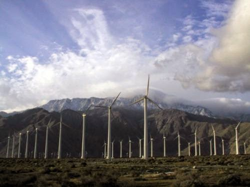 Wind turbines are a source of renewable energy, but require huge amounts of rare earth metals