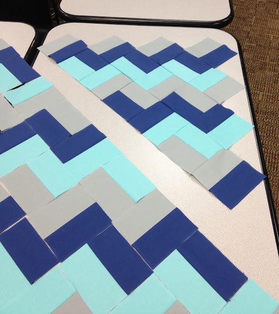Hello Zig Zag Quilt Pattern : Zig-Zag Baby Quilt Moda Bake Shop