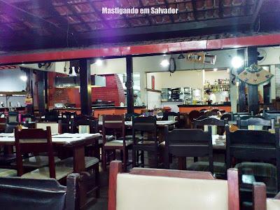 Restaurante Grande Sertão: Salão