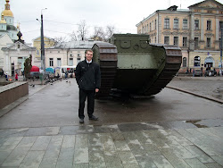 Chris and the Tank