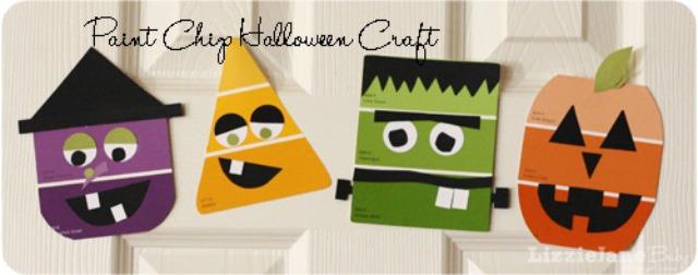 Manualidad de Halloween para niños