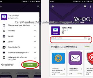 cara membuat email yahoo melalui hp