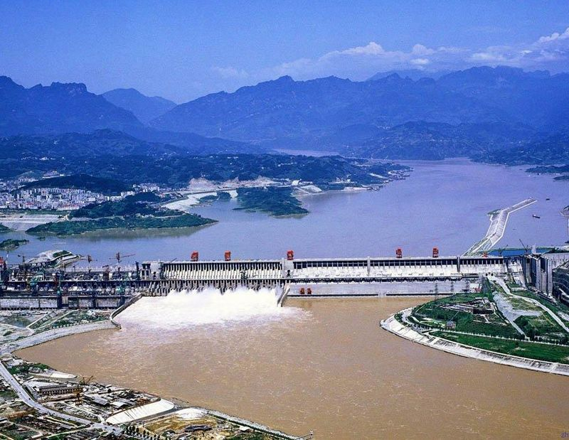 The Three Gorges on the Yangtze River