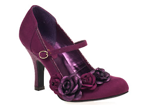 Ruby Shoo Purple Wine O'Hara, £44.95