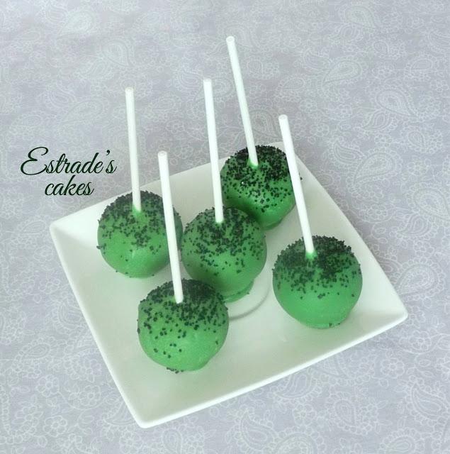 cake pops de Minecraft 2