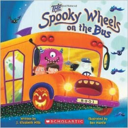 http://www.amazon.com/The-Spooky-Wheels-Elizabeth-Mills/dp/0545174805
