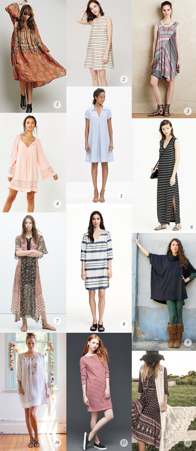 12 Stylish Non-Maternity Dresses That Also Work for Pregnancy, via Bubby and Bean