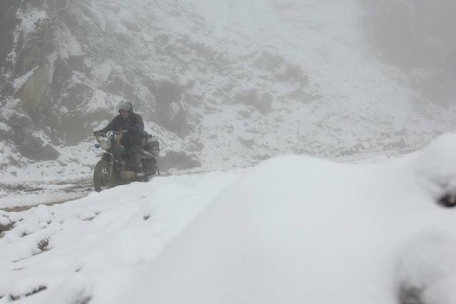 Miền Trung Tuyết dày 20cm lần đầu xuất hiện tại Nghệ An