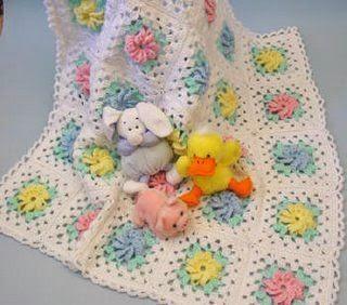 Страна мам вязание пледа для новорожденных