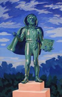J.F. Willumsen: Projekt til en statue