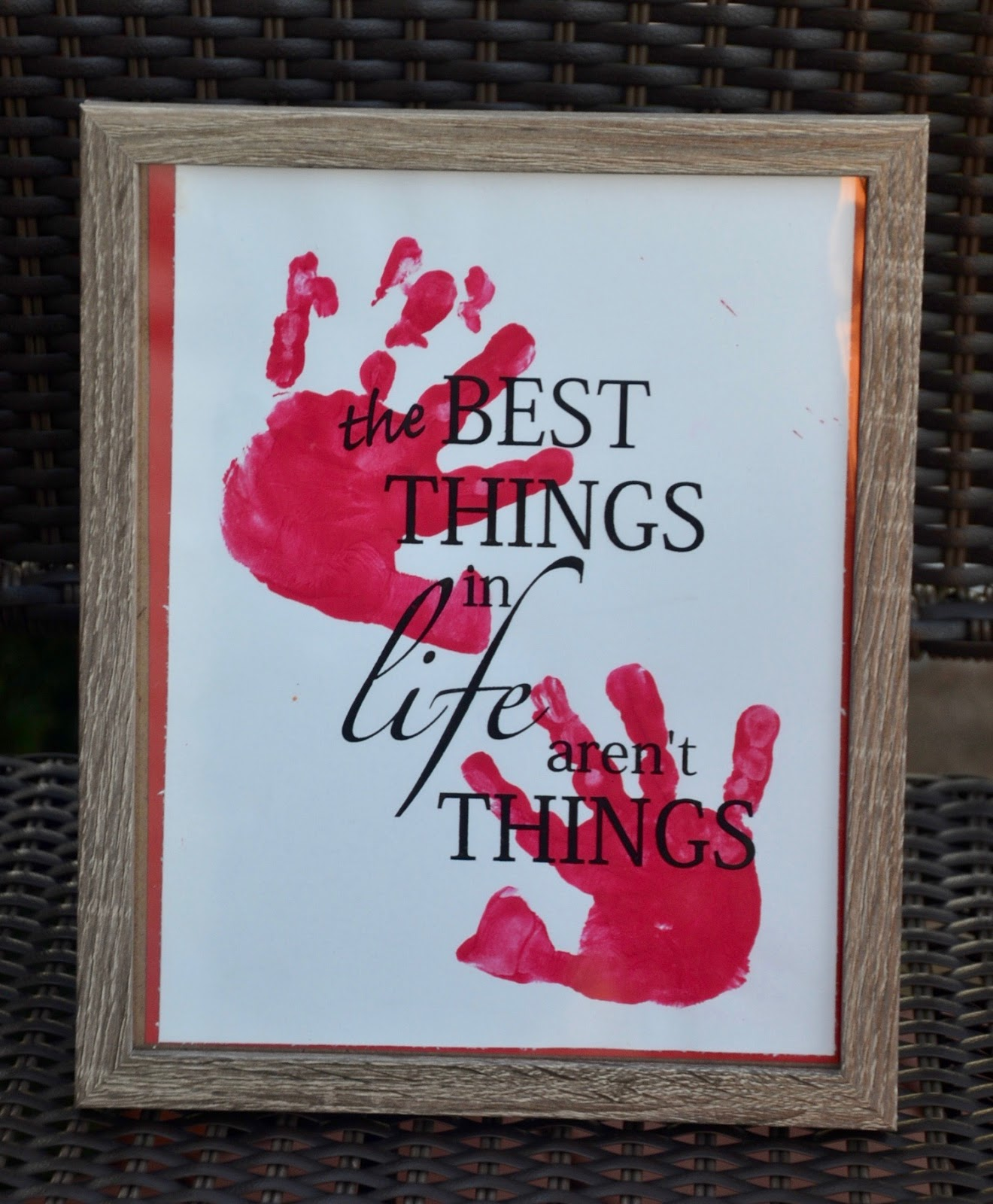aunt tami u0026 39 s house  hand print christmas gifts