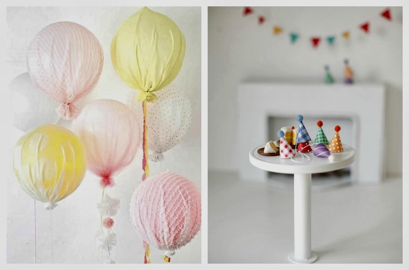 urodzinowe balony i czapeczki