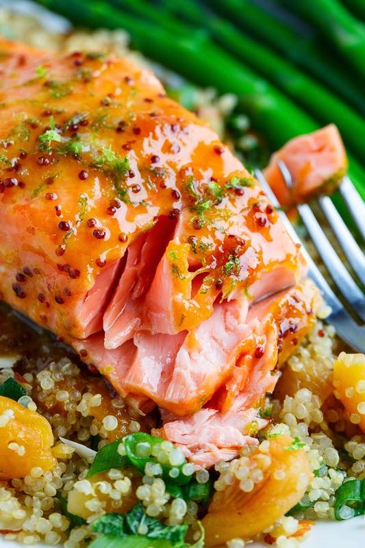 Easy salmon dijon recipes