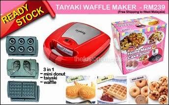 TAIYAKI WAFFLE MAKER