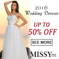 Top UK Wedding Dresses at MissyDress.co.uk