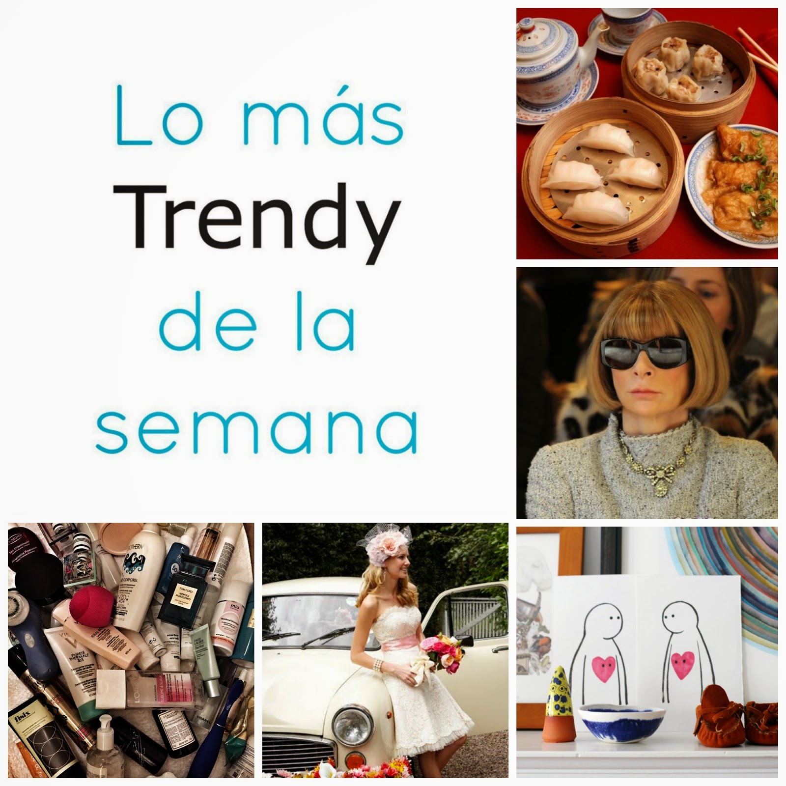 Lo mas trendy de la semana planes recomendaciones links Madrid fin de semana moda estilo