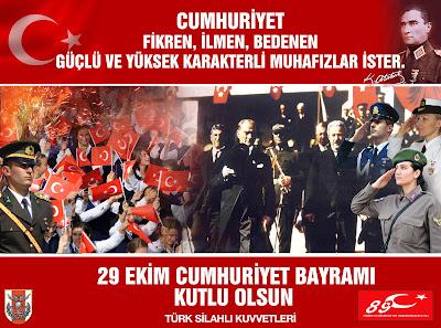 turkiye cumhuriyetinin 89 yili afisleri