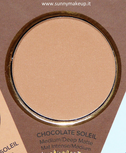 Too Faced - The Little Black Book di Bronzer. Chocolate Soleil.
