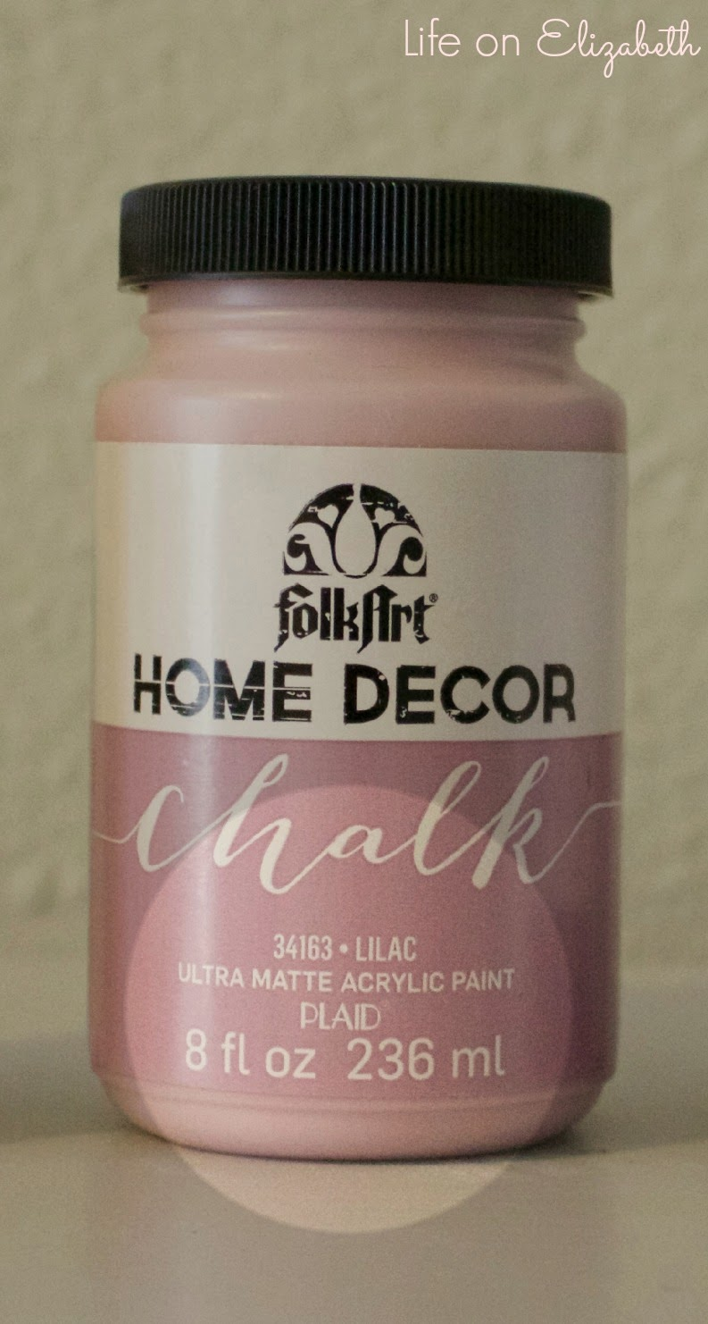 the finish is truly matte and chalky which is similar to the finish of annie sloan chalk paint - Home Decor Chalk Paint