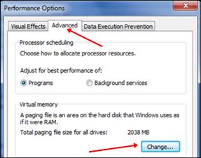 virtualwindowmemory - Increase Ram With USB PenDrive In Windows XP, 7 And 8