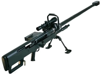 Denel ntw-20 20 mm anti material sniper rifle