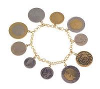 Italian Coin Bracelet Qvc6