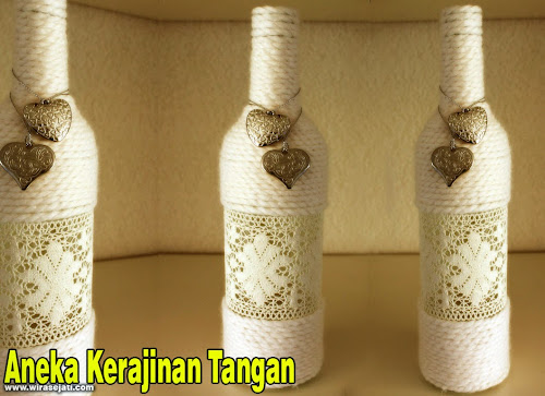 Kerajinan tangan dari botol, kerajinan tangan dari botol bekas, karya seni dari botol, Cara membuat kerajinan tangan dari botol bekas,