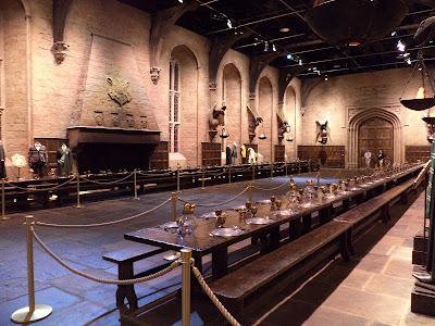 Dining Room Hogwarts Harry Potter Londra