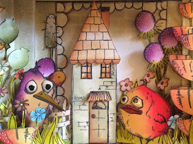 Tim Holtz Crazy Birds Clare Chervil My Creative Spirit