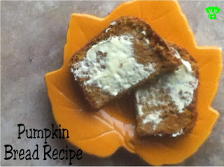 Pumpkin Bread Recipe by Kims Kandy Kreations