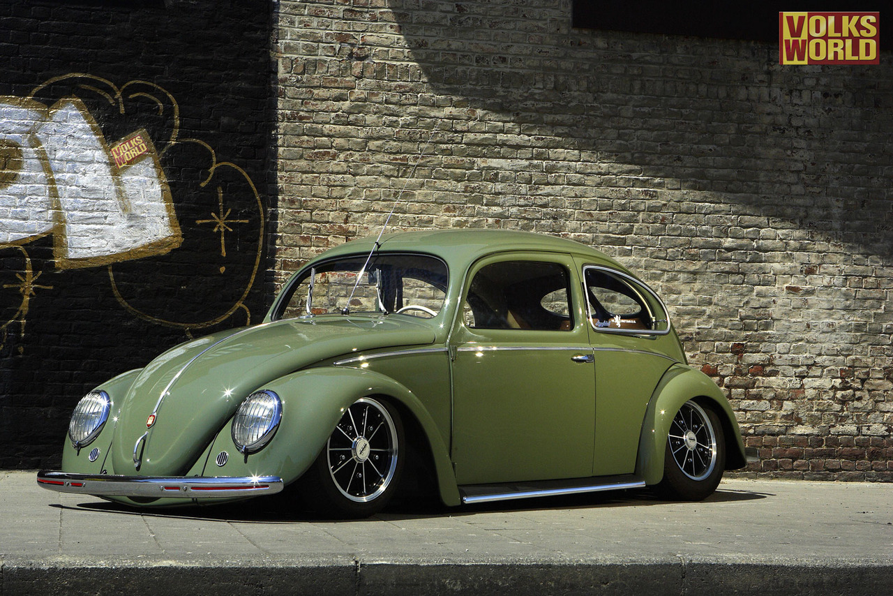 Ruote Rugginose Lovable Green Vw Bug