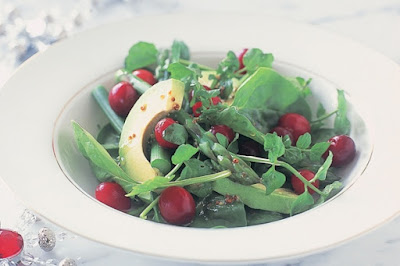 Cranberry and watercress salad Recipe