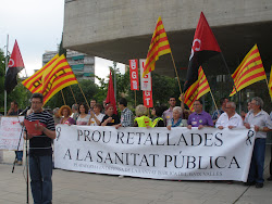 Manifestació a Mollet contra les retallades a la sanitat pública