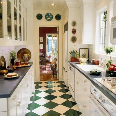 New Home Interior Design Galley Kitchen Designs