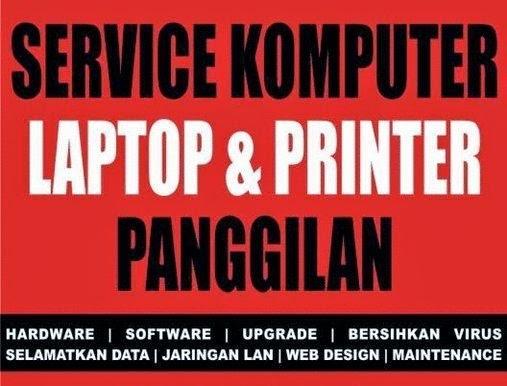Service panggilan komputer  di bali