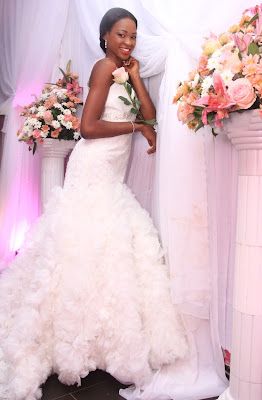 Superb Wedding Dresses 3 Marvelous PHOTOS Nigerian Celebrities Posing