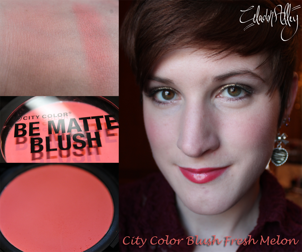 City Color Be Matte Blush Fresh Melon