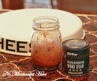 DIY Antiquing Wax