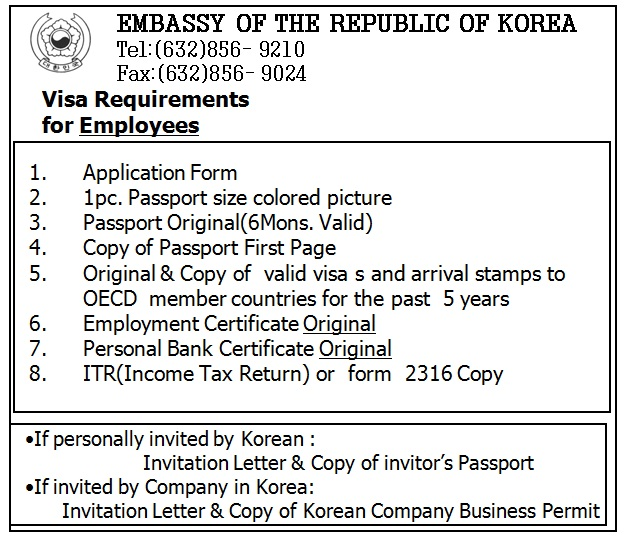 Korea getaway chapter 1 visa kriezeldaria 2 if you are an employee stopboris Image collections