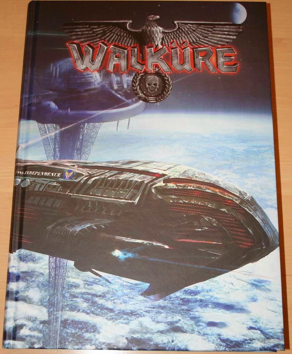 RPG WALKÜRE, ucronía, ciencia ficción, ilustración