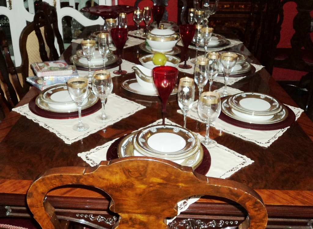 Casarao antiguidades jogo de jantar de porcelana italiana for Porcelana italiana