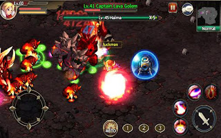 Screenshots of the Zenonia S: Rifts in time for Android tablet, phone.